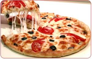 Notre carte de pizza et bruschetta