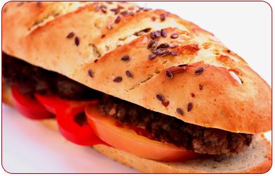 Notre carte des sandwichs
