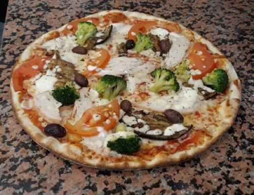 Pizza printanière