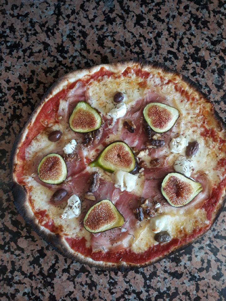 pizza figues fraîches