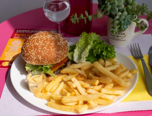 Livraison de burger à Saint-Laurent du var